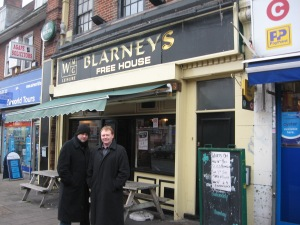 KL and Liam at Blarneys